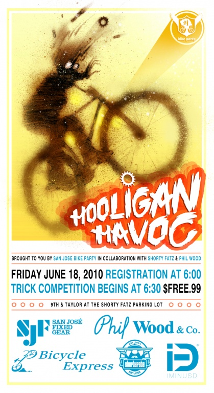 SJBP The Holigan Havoc Trick Comp and Ride June 2010