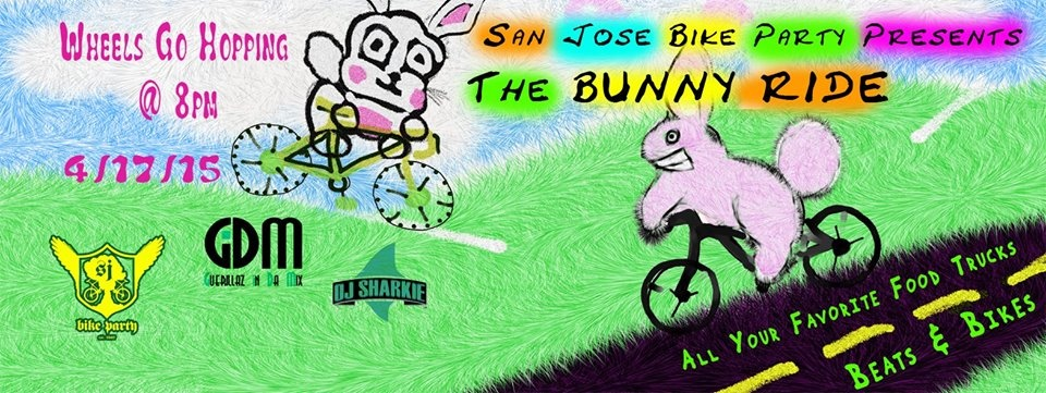 Bunny Ride April 2015