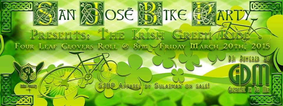 Irish Green Ride March 2015
