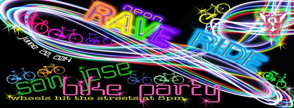 Neon Rave Ride -June 2014