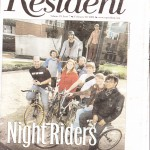 San Jose Bike Party in the Willow Glen Resident!