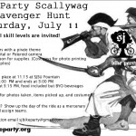 Scalleywag Scavenger Hunt!