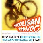 Hooligan Havoc June 18th @6PM