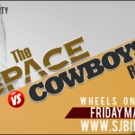 The Space vs Cowboys Ride – March 18th (UPDATED)