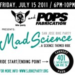 The Science Ride – July 15