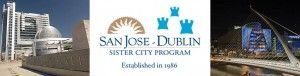 San Jose Dublin Sister City Banner