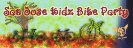 San Jose Kidz Bike Party Logo