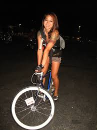 Bike Party Tina