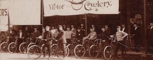 West Santa Clara Street bike shop