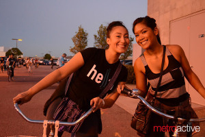 San Jose Bike Party ladies