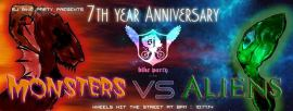 San Jose Bike Party presents the Alien and Monsters Ride