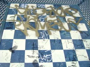 Monopoly vandalism