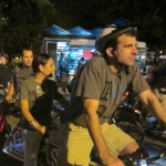 Mayor Elect Sam Liccardo and wife Jessica Garcia-Kohl ride San Jose Bike Party in September. photo: A Boone