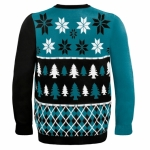 San Jose Sharks rockin' their ugly sweaters