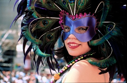 San Jose Bike Party Mardi Gras