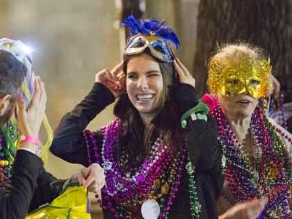 Sandra Bullock Mardi Gras