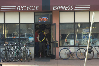 Bicycle Express Storefront