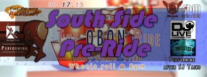 Obon Ride South Side Pre-Ride
