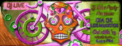 The Dia de los Muertos Ride – October 16th, 2015