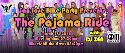 The Pajama Ride – March 18th, 2016