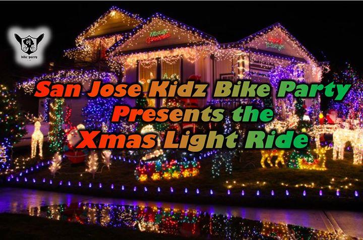 san jose kidz bike party xmas light ride san jos bike party