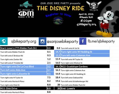 The Disney Ride – April 15th, 2016