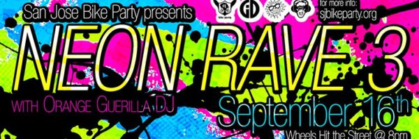 The Neon Rave Ride 3 – September 16th, 2016
