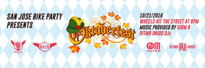 The Oktoberfest Ride – October 21st, 2016