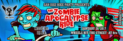 The Zombie Apocalypse Ride – January 20th, 2016
