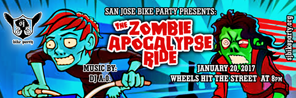 The Zombie Apocalypse Ride – January 20th, 2017