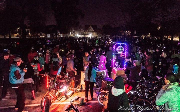 San Jose Bike Party 2017