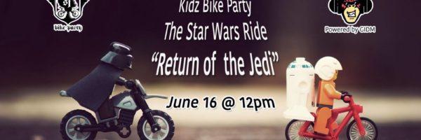 "San Jose Kidz Bike Party-The Star Wars Ride ""Return of the Jedi"""
