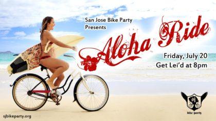 The Aloha Ride! July 20th, 2018