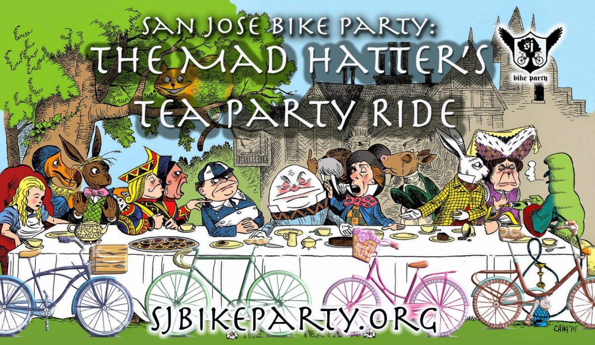 The Mad Hatters Tea Party Ride San Jose Bike Party
