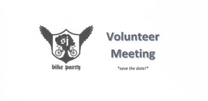 SJBP Volunteer Meeting – June!