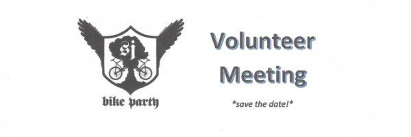 SJBP Volunteer Meeting – June!