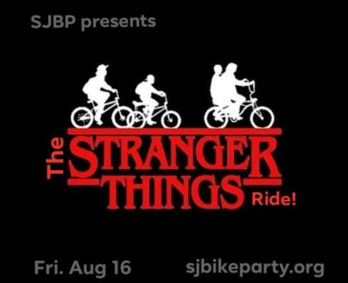 SJBP: The Stranger Things (from the 80s) Ride!