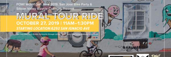 POW! WOW! SJ Mural Tour Ride 2019