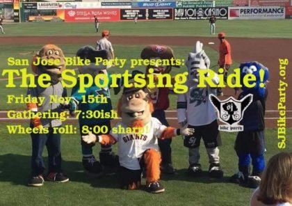 SJBP: The Sportsing Ride! Test Ride 1