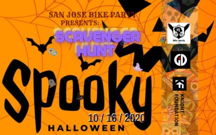 SJBP Halloween Scavenger Hunt Ride (now with prizes!)