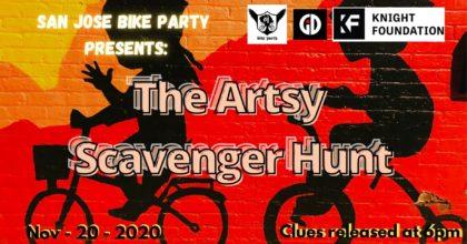 SJBP Presents The Artsy Scavenger Hunt