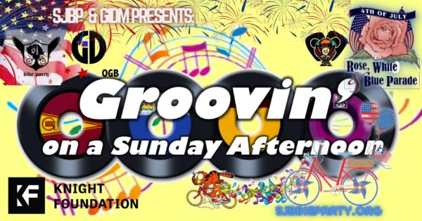 SJBP presents a Rose, White, and Blue Grooving Ride!