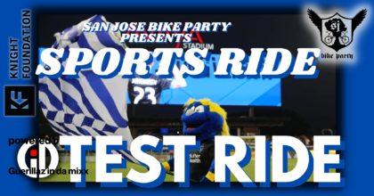 SJBP – Sports Ride – Test Ride 2