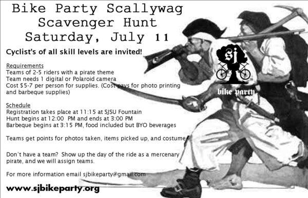 Scalleywag Scavenger Hunt!