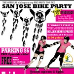 Hellyer Velodrome track party before November's Bike Party!