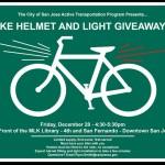 Volunteers needed for city bike light and helmet program