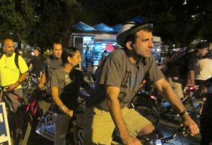 Sam Liccardo bike