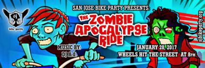 The Zombie Apocalypse Ride – January 20th, 2017