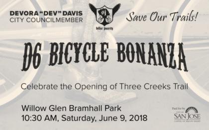D6 Bicycle Bonanza with San José Council Member Dev Davis