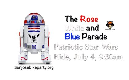 Rose, White And Blue Parade, July 4 9am